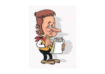 Caricaturiste Gribouilletout
