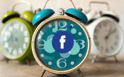 Suffit-il de publier à la bonne heure pour être visible sur Facebook ?
